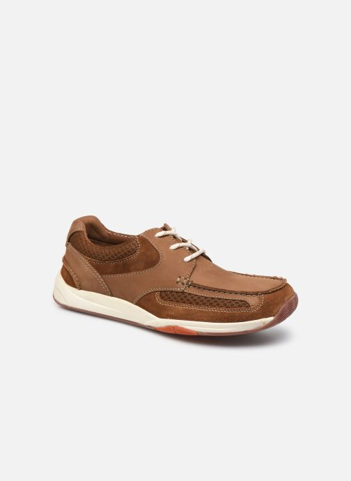 Zapatos con cordones Clarks Langton Lane Marrón vista de detalle / par