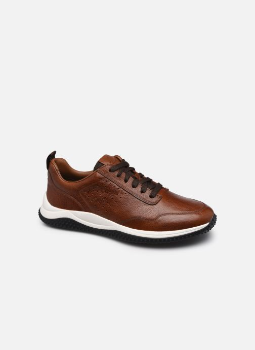 Sneakers Clarks Puxton Lace Bruin detail