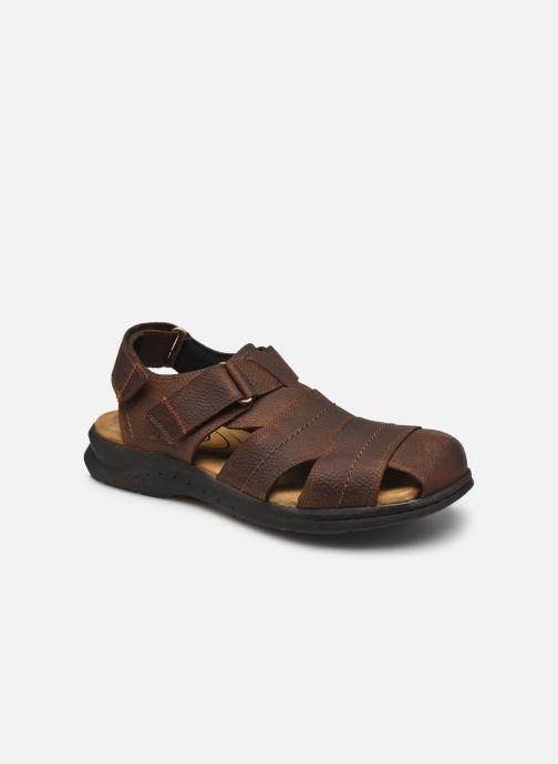 Sandales et nu-pieds Clarks Hapsford Cove Marron vue détail/paire
