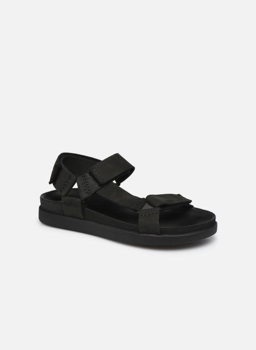Sandales et nu-pieds Clarks Sunder Range Noir vue détail/paire