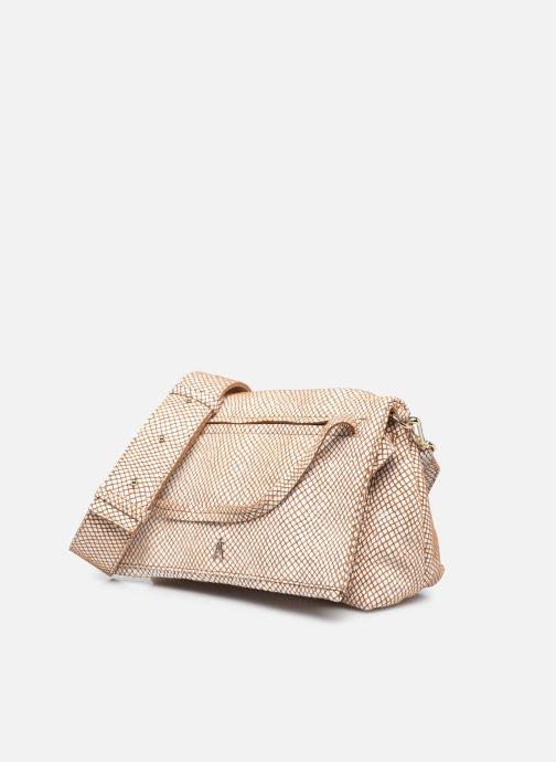 Handtaschen Craie Module weiß schuhe getragen