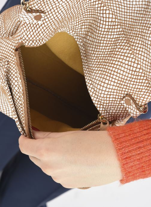 Handtaschen Craie Module weiß ansicht von hinten