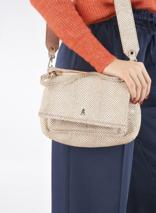 Handtaschen Craie Module weiß ansicht von unten / tasche getragen