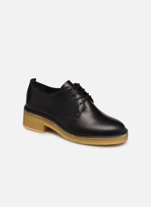 Chaussures à lacets Clarks Originals Maru London Noir vue détail/paire