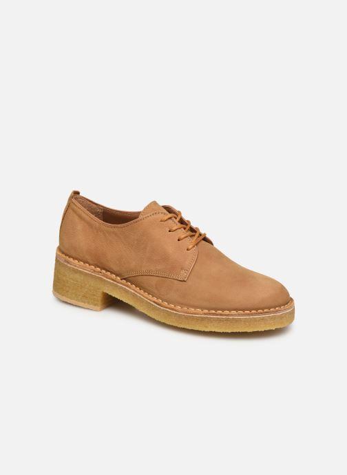 Chaussures à lacets Clarks Originals Maru London Marron vue détail/paire
