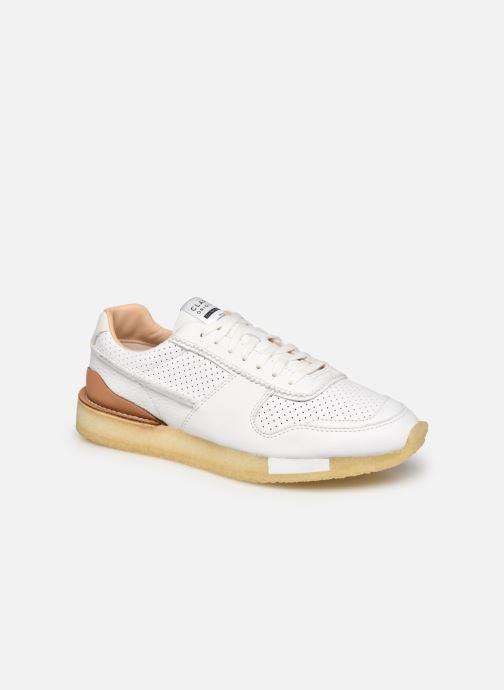 Sneaker Clarks Originals Torrun weiß detaillierte ansicht/modell