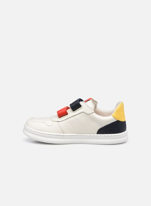 Sneakers Camper Runner Double V Bianco immagine frontale