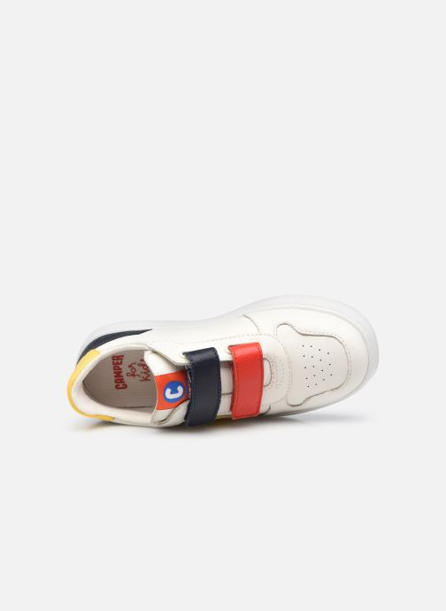 Sneakers Camper Runner Double V Bianco immagine sinistra