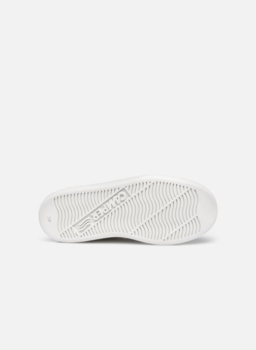 Sneakers Camper Runner Double V Bianco immagine dall'alto