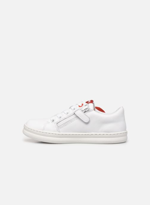 Sneakers Camper Twins Runner Bianco immagine frontale