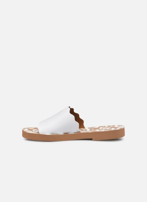 Zoccoli See by Chloé Essie Slide Bianco immagine frontale