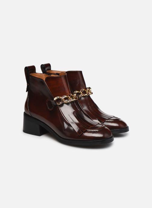 Bottines et boots See by Chloé Mahe Loafer Bordeaux vue 3/4