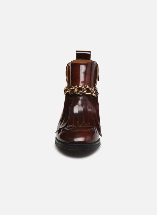 Bottines et boots See by Chloé Mahe Loafer Bordeaux vue portées chaussures