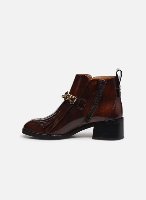 Bottines et boots See by Chloé Mahe Loafer Bordeaux vue face