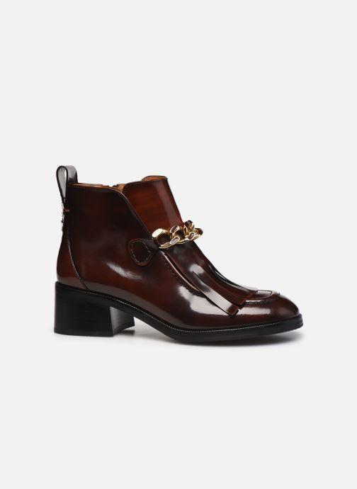 Bottines et boots See by Chloé Mahe Loafer Bordeaux vue derrière