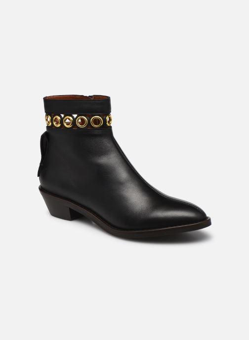 Boots en enkellaarsjes See by Chloé Steffi Ankle Boot Zwart detail