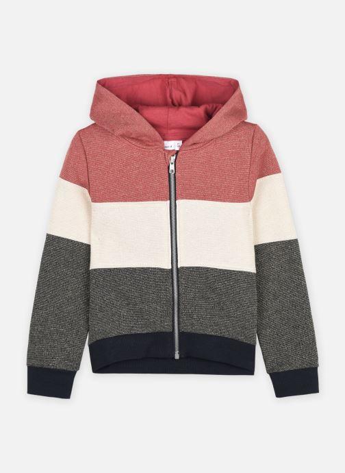 Sweatshirt hoodie - Nkfbullan Ls Card Bru