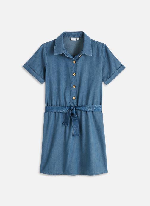 Vêtements Name it Nkfbaya Dnm 2477 S/S Dress Bleu vue détail/paire