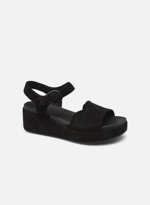 Sandales et nu-pieds Clarks Unstructured Kimmei Way Noir vue détail/paire