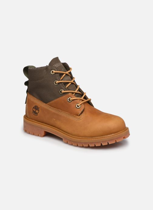 Bottines et boots Timberland 6 In Treadlight Boot Marron vue détail/paire