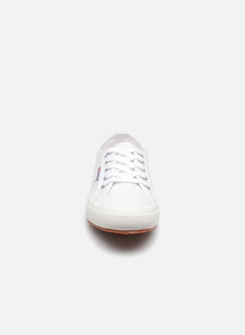 Baskets Superga 2750 Cotu Classic Coton W Blanc vue portées chaussures