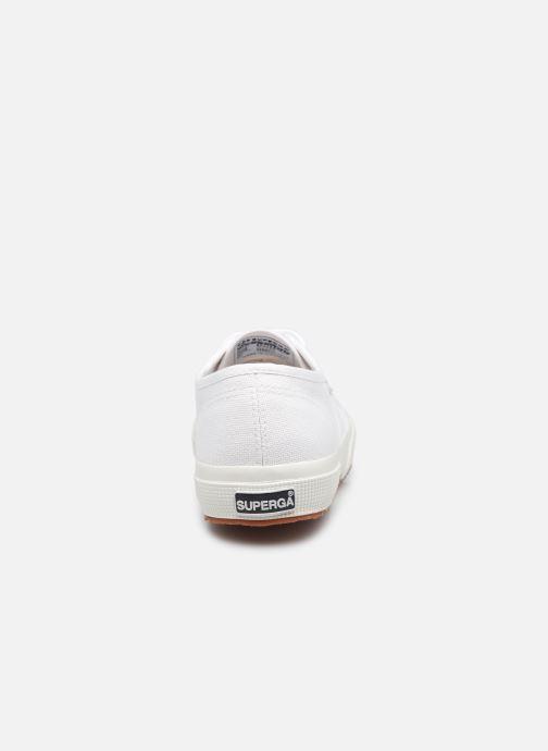 Baskets Superga 2750 Cotu Classic Coton W Blanc vue droite