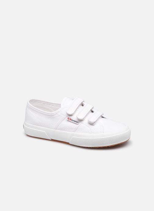 Sneaker Superga 2750 Cot 3 Strapu Coton W weiß detaillierte ansicht/modell