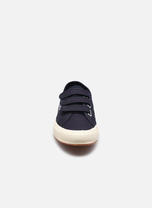 Sneaker Superga 2750 Cot 3 Strapu Coton W blau schuhe getragen