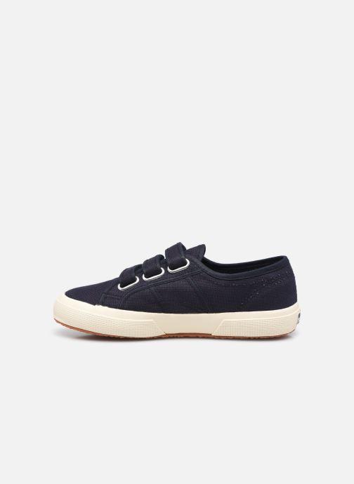 Sneaker Superga 2750 Cot 3 Strapu Coton W blau ansicht von vorne