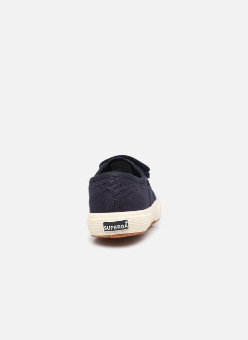 Sneaker Superga 2750 Cot 3 Strapu Coton W blau ansicht von rechts