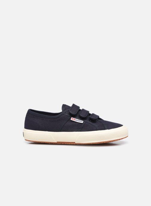 Sneaker Superga 2750 Cot 3 Strapu Coton W blau ansicht von hinten