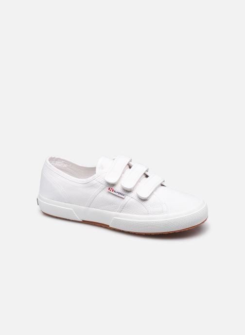 Sneaker Superga 2750 Cot 3 Strapu Coton M weiß detaillierte ansicht/modell