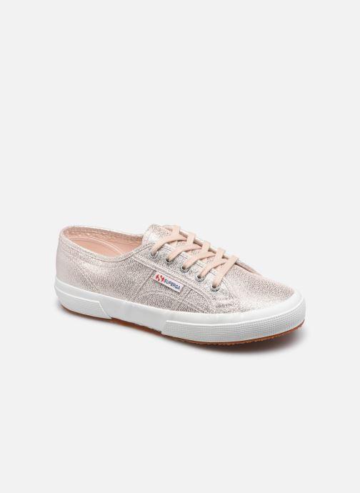 Sneaker Superga 2750 Lame W rosa detaillierte ansicht/modell