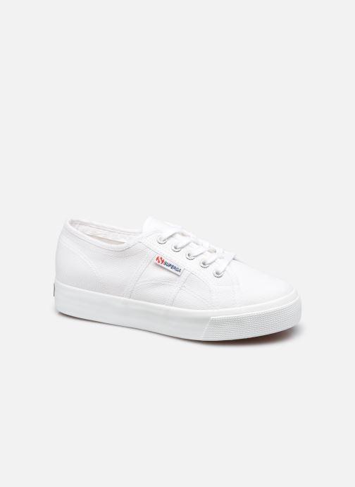 Sneaker Superga 2730 Cotu Coton W weiß detaillierte ansicht/modell
