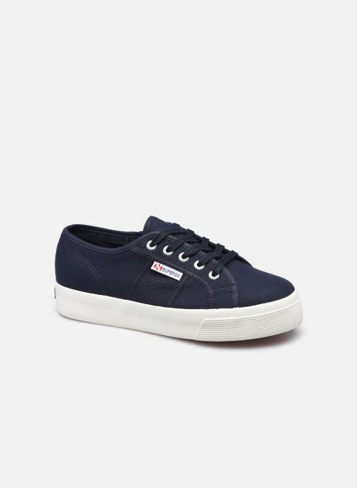 Sneakers Superga 2730 Cotu Coton W Blauw detail