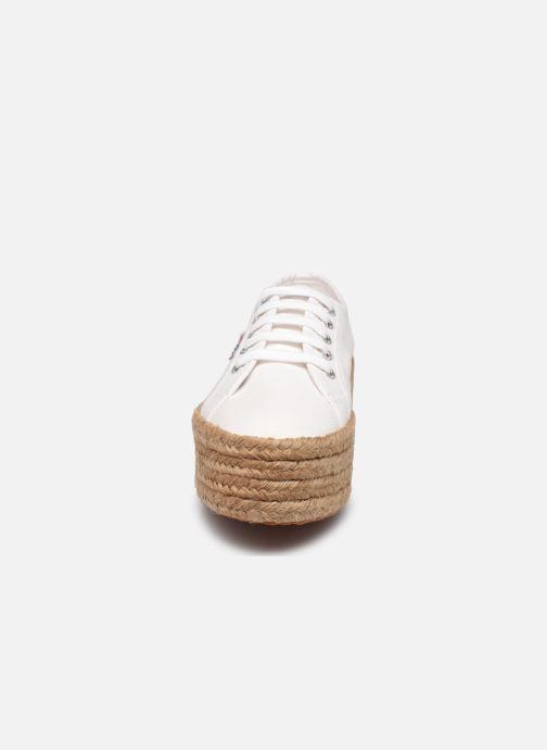 Sneaker Superga 2790 Cotro Pew Coton W weiß schuhe getragen