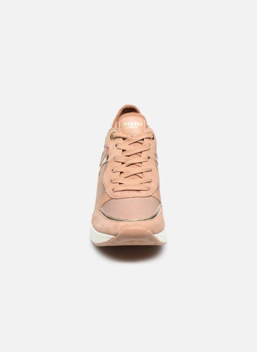 Sneaker Dune London EILA rosa schuhe getragen