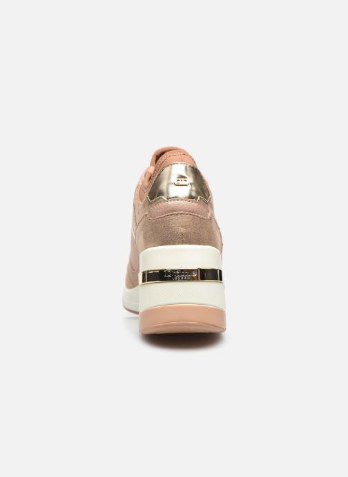 Sneaker Dune London EILA rosa ansicht von rechts
