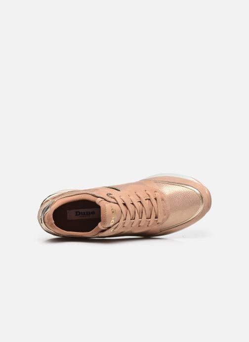 Sneaker Dune London EILA rosa ansicht von links