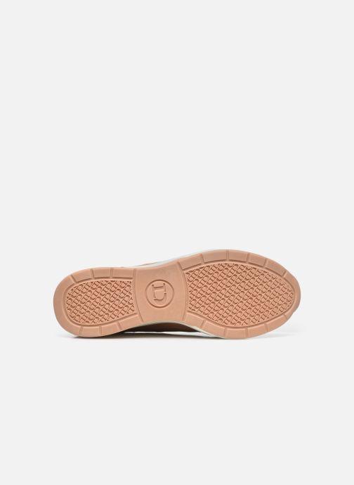 Sneaker Dune London EILA rosa ansicht von oben