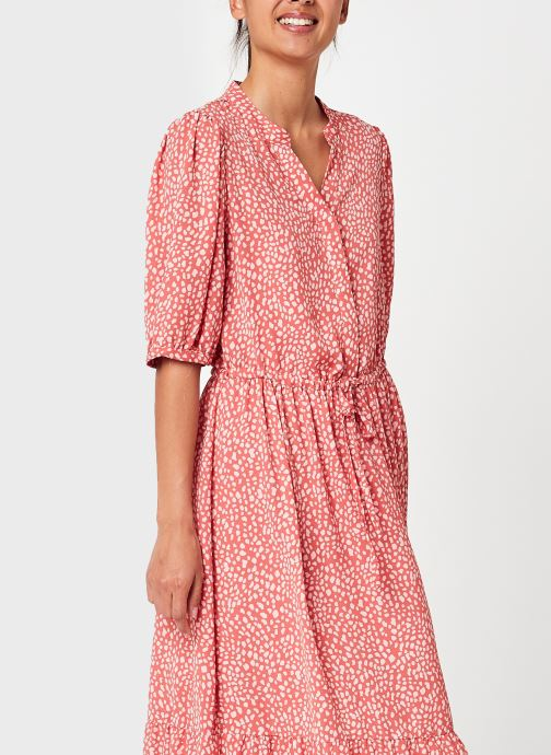 Kleding MOSS COPENHAGEN Clover Dress Roze detail