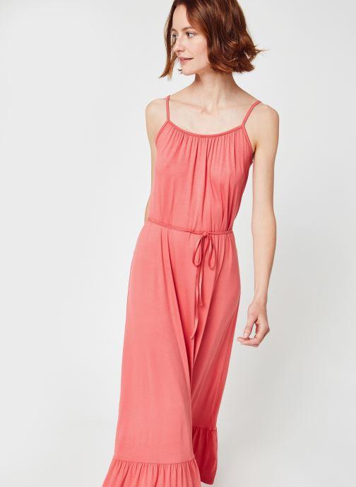 Kleding MOSS COPENHAGEN Maika Remi Dress Roze detail
