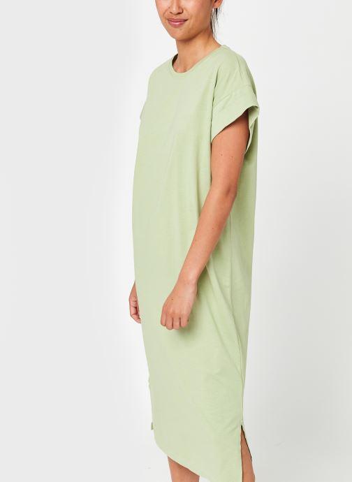 Kleding MOSS COPENHAGEN Elisse Alva Dress Groen detail