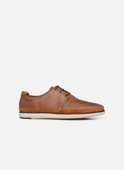 Chaussures à lacets Clarks Unstructured Bratton Lace Marron vue derrière