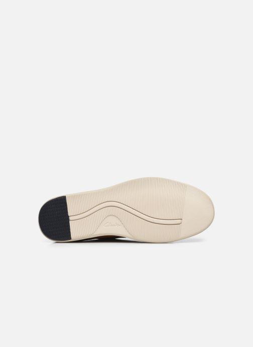 Chaussures à lacets Clarks Unstructured Bratton Lace Marron vue haut