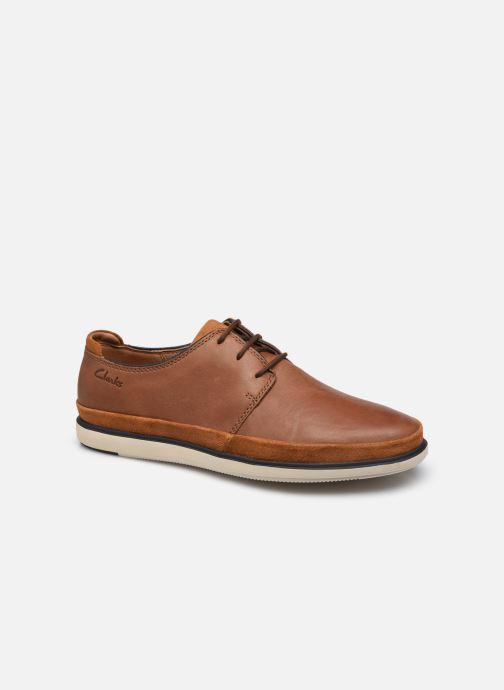 Chaussures à lacets Clarks Unstructured Bratton Lace Marron vue détail/paire