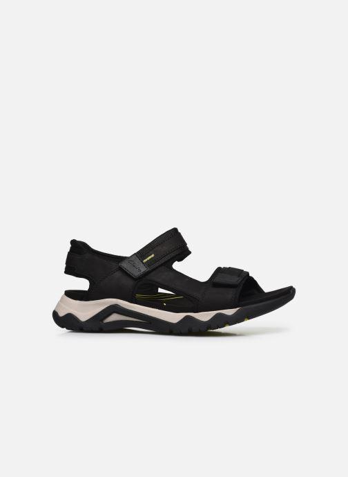 Sandali e scarpe aperte Clarks Unstructured Wave2.0 Jump Nero immagine posteriore