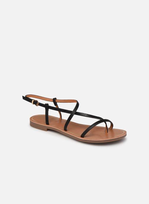 Sandales et nu-pieds ONLY ONLMELLY-7 PU  STRING SANDAL Noir vue détail/paire