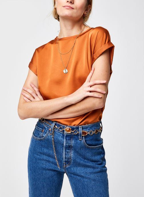 T-shirt - Viellette Satin Top