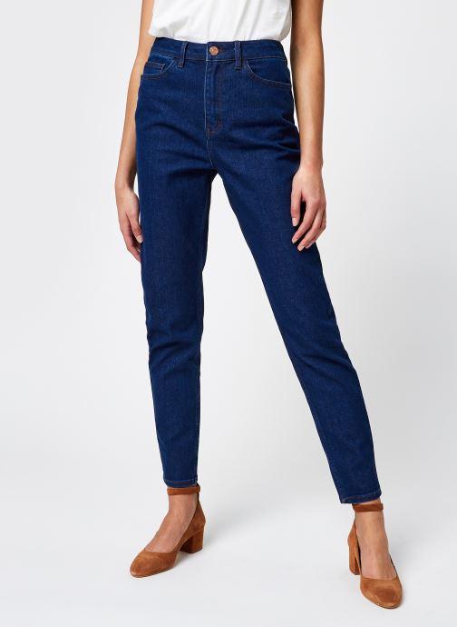 Vêtements Vila Vimommie Amalia Mom Jeans Bleu vue détail/paire